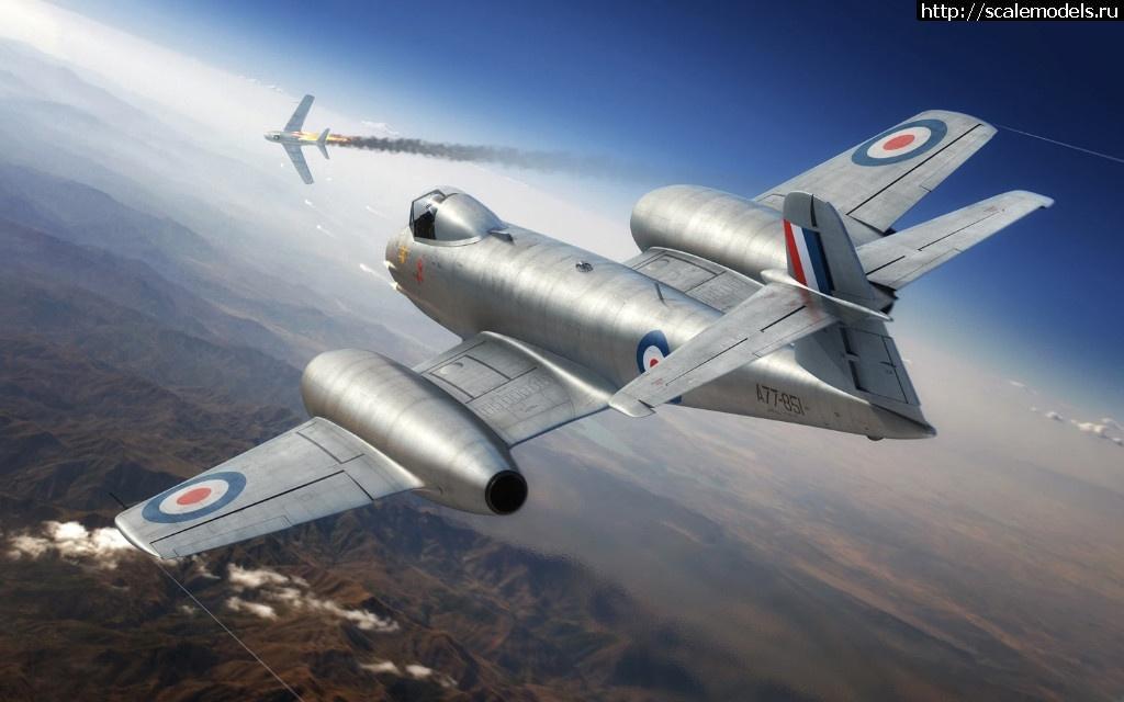 Анонс Airfix  Gloster Meteor F8, Korean War 1/48 Закрыть окно