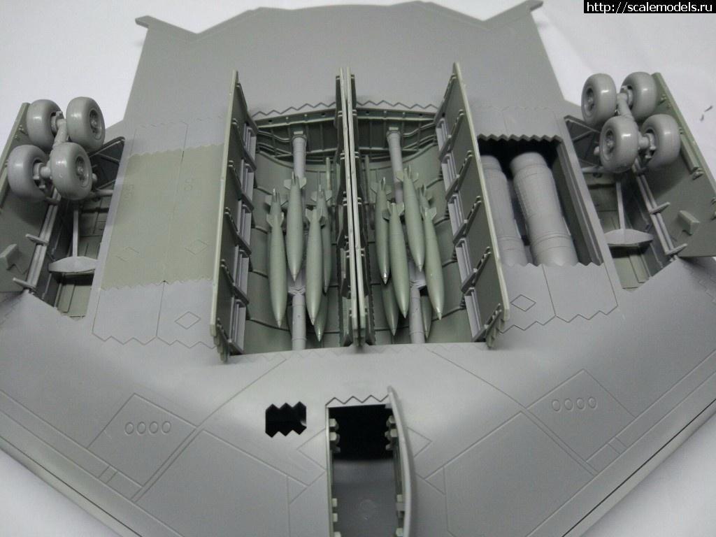 Анонс Modelcollect 1/72 Northrop B-2 Spirit - тестовая сборка Закрыть окно