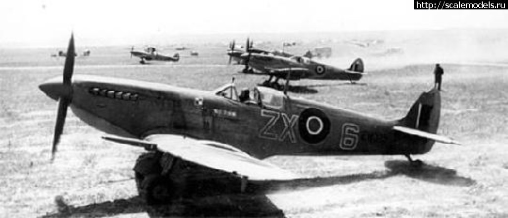 Spitfire Mk.IXc Stanislaw Skalski Eduard 1/72 Готово Закрыть окно