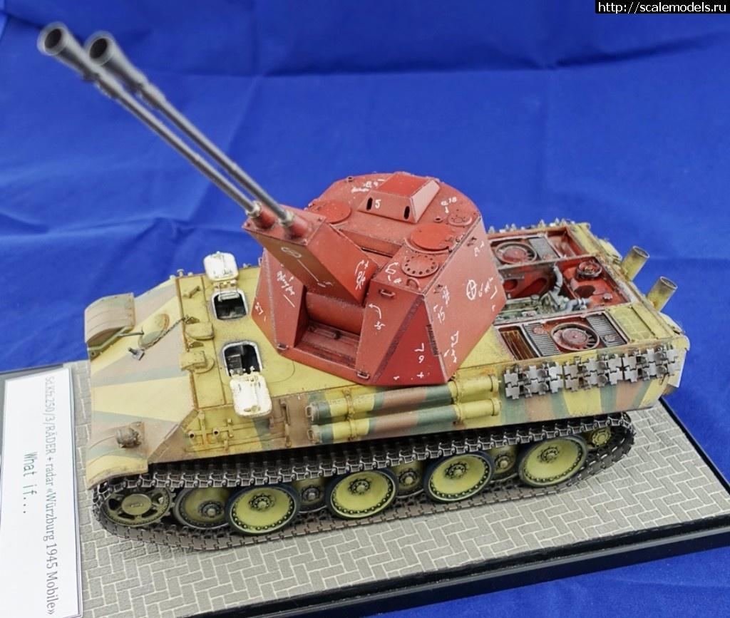 #1413565/ 5,5 cm Flakpanzer mit PzKpfw V «Panther» Ausf G - ГОТОВО Закрыть окно
