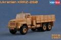 Анонс Hobby Boss 1/35 грузовик КрАЗ-260 - тестовая сборка