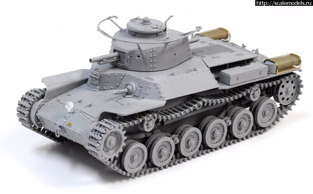 Анонс Dragon 1/35 средний танк IJA Type 97 Chi-Ha Early Production Закрыть окно
