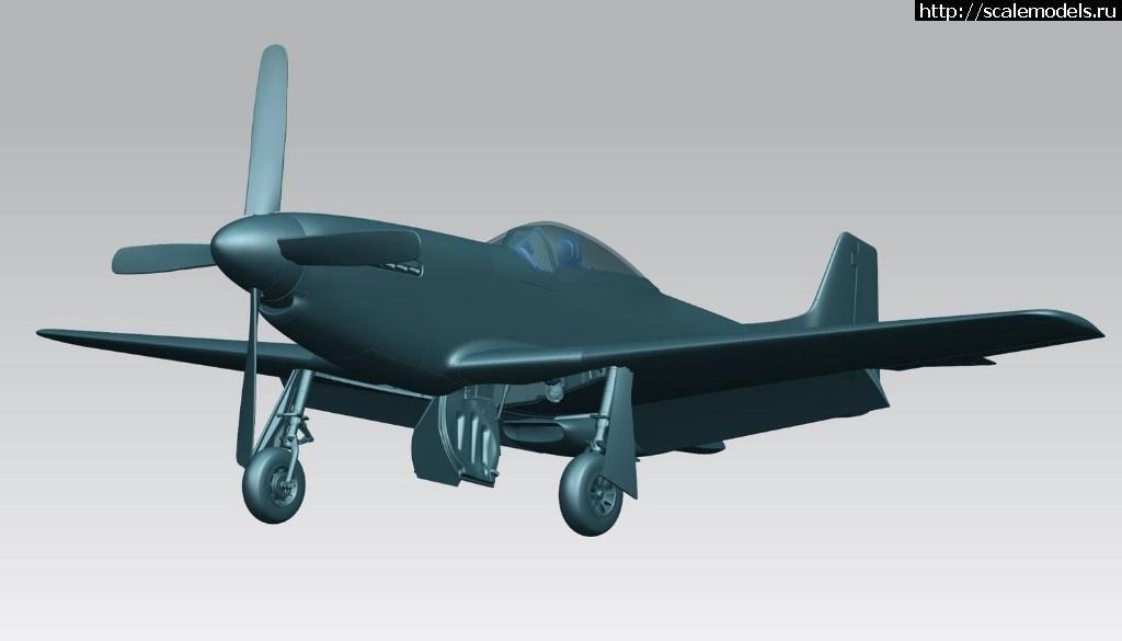 Новинка Eduard P-51D Mustang 1/48 Закрыть окно