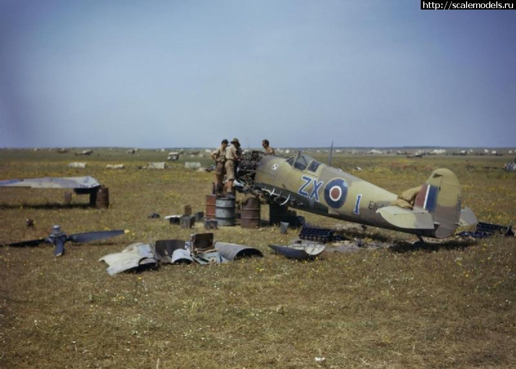#1422154/ Spitfire Mk.IXc Stanislaw Skalski Eduard 1/72 Готово Закрыть окно