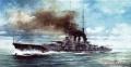 Анонс Kajika 1/700 линейный крейсер Hiei 1915