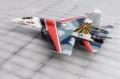 Trumpeter 1/72 Су-27 Русские Витязи (ранний окрас)