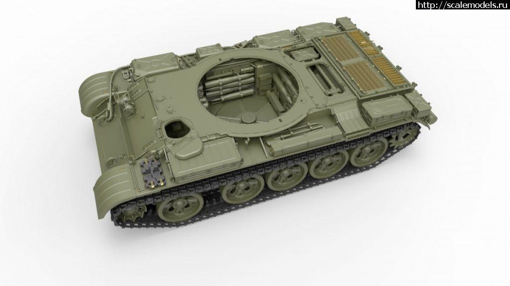 Анонс Miniart 1/35  T-55А Mod. 1965 Interior Kit Закрыть окно