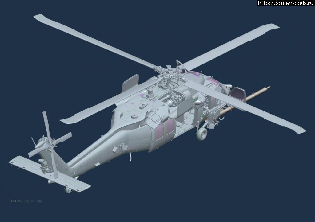Анонс KittyHawk 1/35 вертолет Sikorsky HH-60G Pave Hawk Закрыть окно