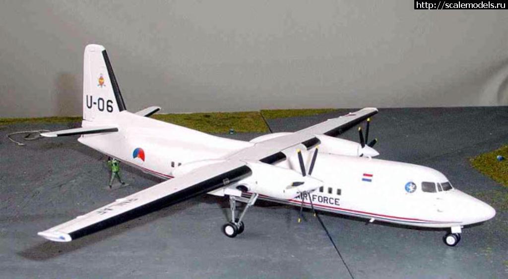 Анонс Kit-Studio online 1/72 Fokker F-50 Закрыть окно