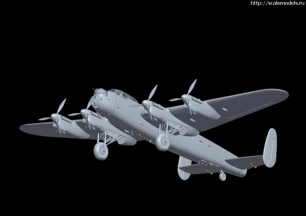 Анонс Hong Kong Models 1/32 Avro Lancaster Mk.I - 3d-render Закрыть окно