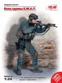 ICM 1/24 Боец группы S.W.A.T. (отливки)