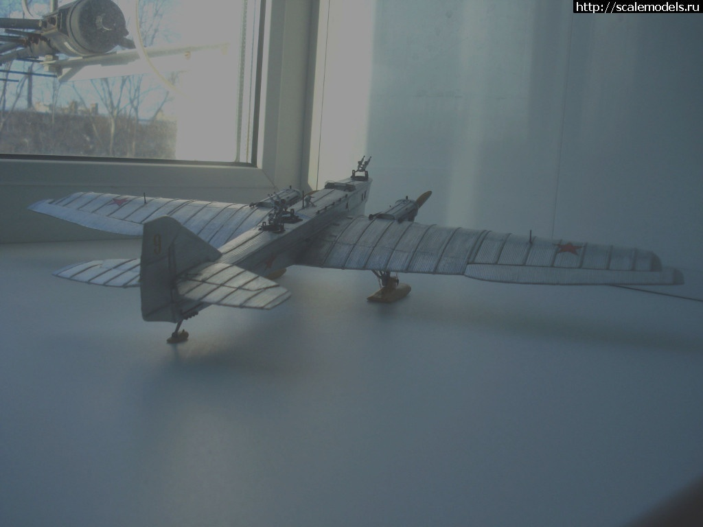"""#1440844/ """"ТБ-1"""", 1/72, самодельный из картона, ГОТОВО!!! Закрыть окно"""