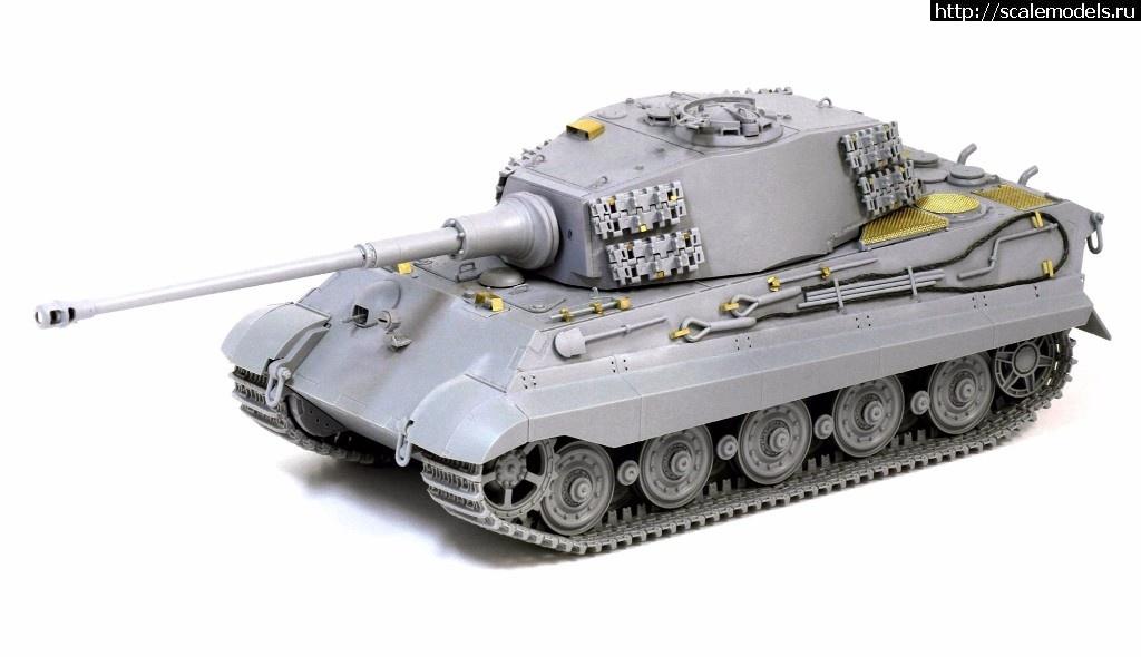 Анонс Dragon 1/35 Kingtiger late production w/new pattern track s.Pz.Abt.506 (Ardennes 1944) Закрыть окно