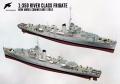 Анонс Starling Models 1/350 фрегат HMS Nadder (K392) типа River