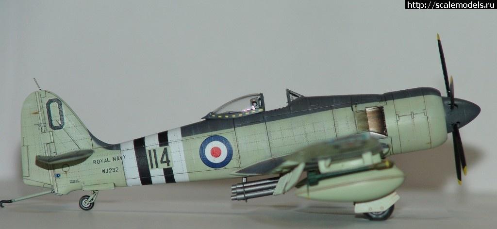 #1444676/ Hawker Sea Fury FB.11      Trumpeter   1:72.ГОТОВО. Закрыть окно