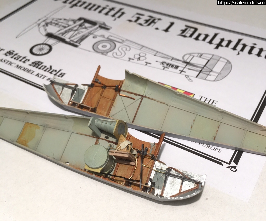 #1449060/ Sopwith 5F1 Dolphin 1/48 Copper State Models Закрыть окно