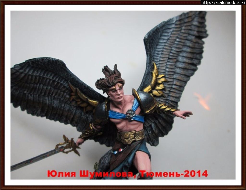 Leogante, Wings of Redemption, фирма ANDREA MINIATURES, олов Закрыть окно