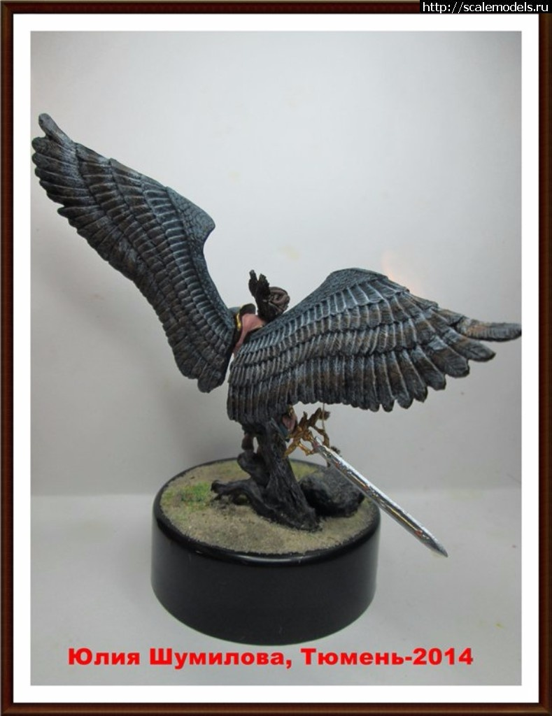 Leogante, Wings of Redemption, фирма ANDREA MINIATURES, олов Закрыть окно