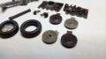 Обзор Metallic Details 1/48 SR-71 BlackBird 1/48 - Ниши и шасси MDR4824