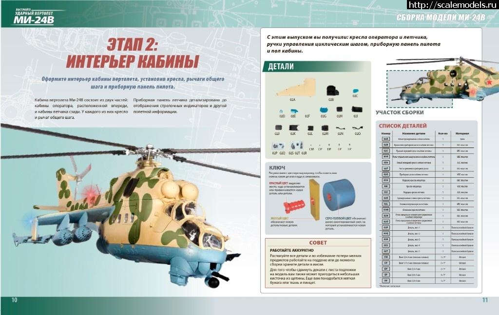 Встречаем 2-й выпуск коллекции Ударный вертолет Ми-24В Закрыть окно