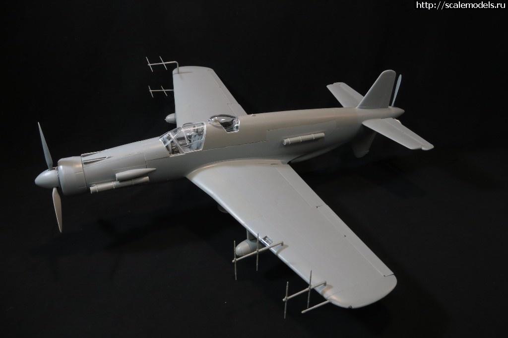 Анонс HK Models 1/32 Dornier Do 335 B-6 Nightfighter - тестовая сборка Закрыть окно