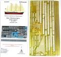 Анонс Микродизайн 1/200 набор деталировки для барка Крузенштерн от Звезды