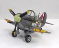Tiger Model Spitfire fighter