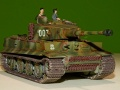 Звезда 1/72 Tiger 1