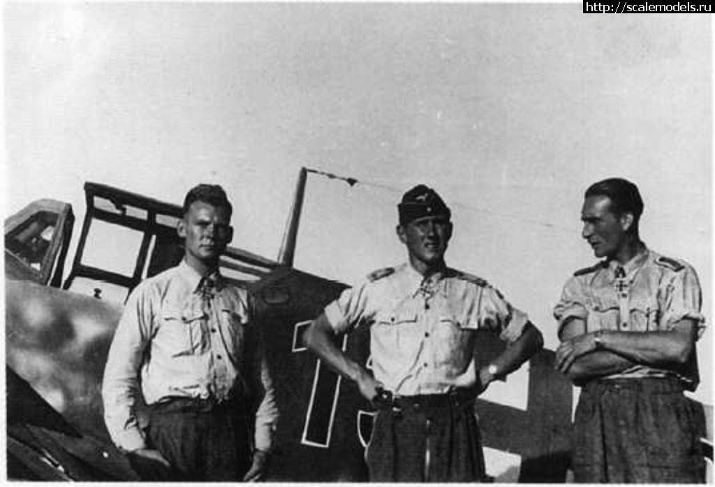 Bf 109G-2 1/48 Gunther Rall ГОТОВО Закрыть окно