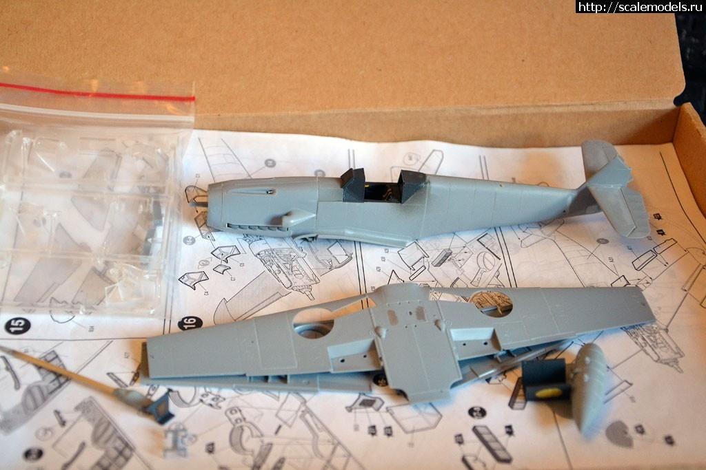 #1462109/ Messerschmitt Bf-109 F-4 Ostermann 8./JG54 (Звезда 1/48) Закрыть окно