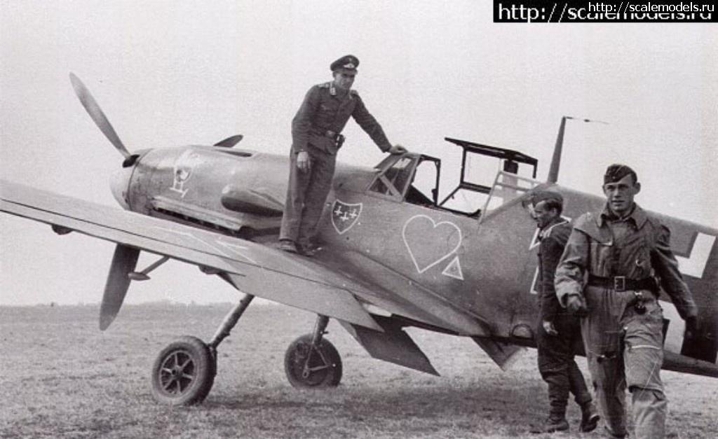 #1462433/ Messerschmitt Bf-109 F-4 Ostermann 8./JG54 (Звезда 1/48) Закрыть окно