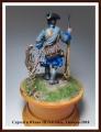 EK Castings 54mm Капрал Тобольского гарнизонного полка 1723 год.