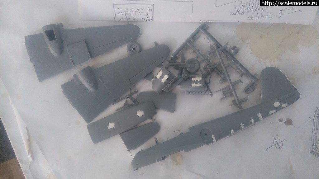 Me-210 1/72 Bilek ГОТОВО Закрыть окно