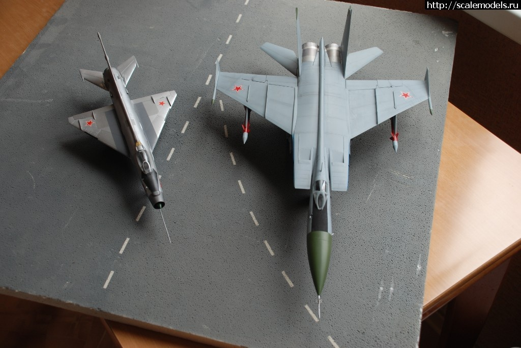 #1473734/ Kittyhawk 1/48 МиГ-25ПД(#11714) - обсуждение Закрыть окно
