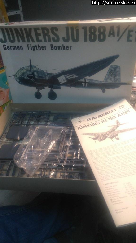 Ju-188А 1/72 Italaerei Закрыть окно