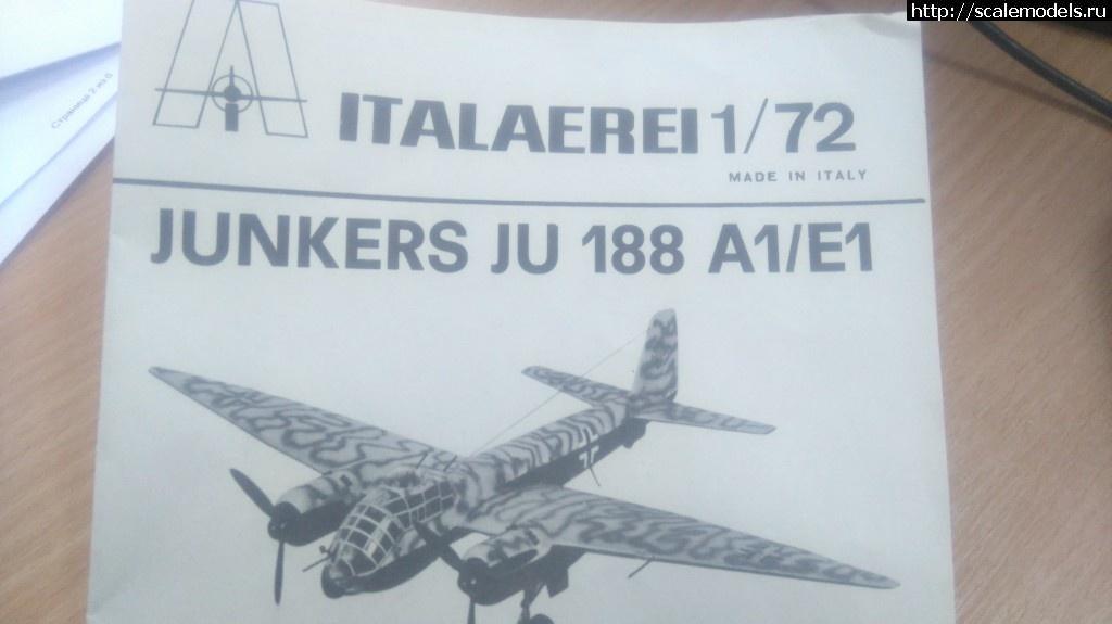 #1475209/ Ju-188А 1/72 Italaerei Закрыть окно