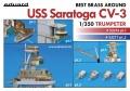 Анонс Eduard 1/350 USS Saratoga CV-3 detail set