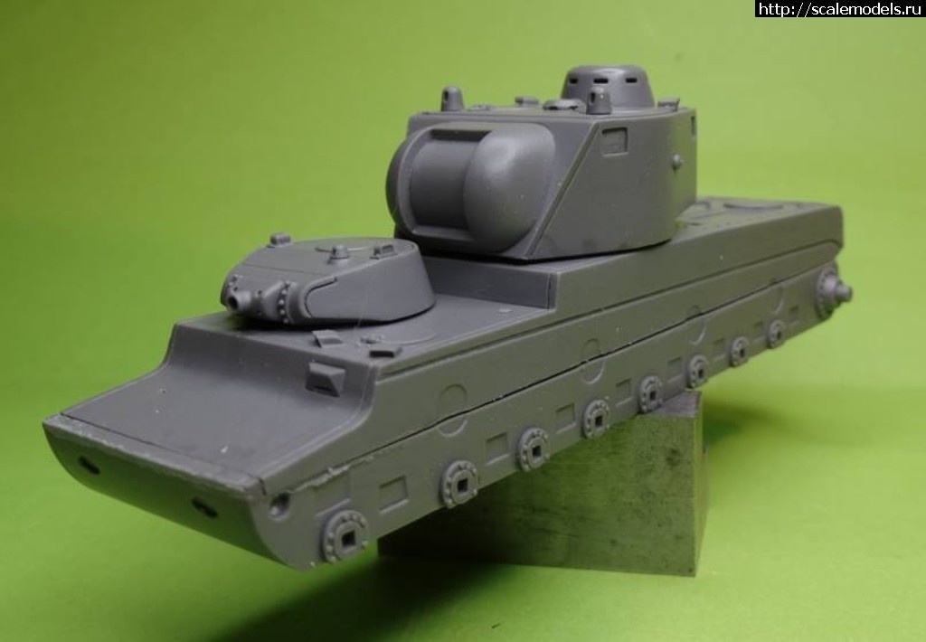 Анонс OKB Grigorov 1/72 тяжелый танк КВ-4 проекта Ермолаева Закрыть окно
