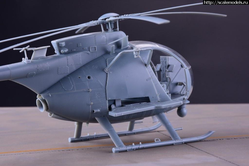 Анонс Kitty Hawk 1/35 AH-6M/MH-6M Little bird Nightstalkers - тестовая сборка Закрыть окно
