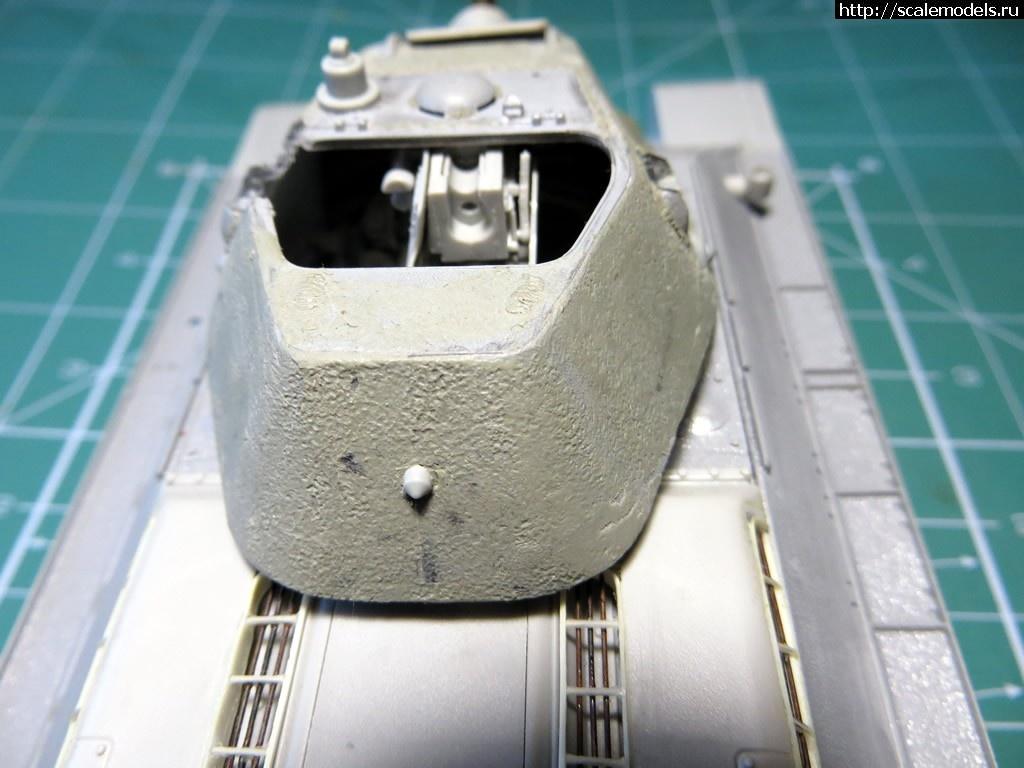 """#1480780/ Т-34 """"Красное Сормово"""" 1942 год. Готово! Закрыть окно"""
