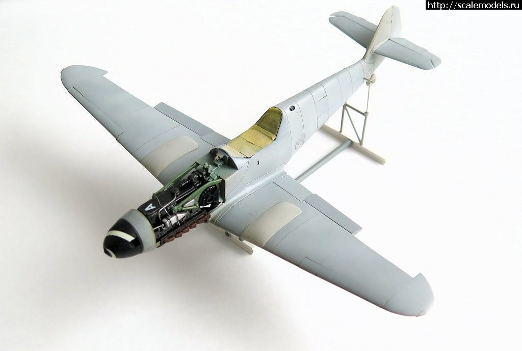 #1480922/ Bf.109G-10/K4 1/48 (Fujimi + Звезда + FM) - ГОТОВО Закрыть окно