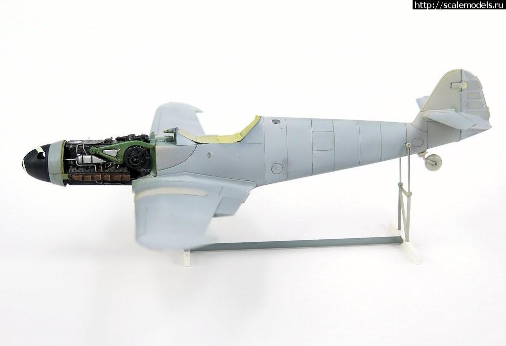 #1481052/ Bf.109G-10/K4 1/48 (Fujimi + Звезда + FM) - ГОТОВО Закрыть окно