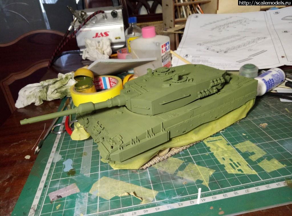 #1482049/ Leopard 2A4 Hobbyboss 1/35 Готово! Закрыть окно