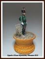 EK Castings 54mm Унтер-офицер Лейб-гвардии егерского батальона. Россия, 1802