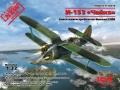 Анонс ICM 1/32 советский истребитель-биплан И-153 Чайка