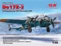 Анонс ICM 1/48 бомбардировщик Do 17Z-2  ВВС Финляндии