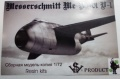 Обзор VSV Product 1/72 Messerschmitt Me-P1101 (V-1)