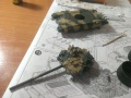 Звезда 1/72 Т-90 Сирийской Арабской Армии