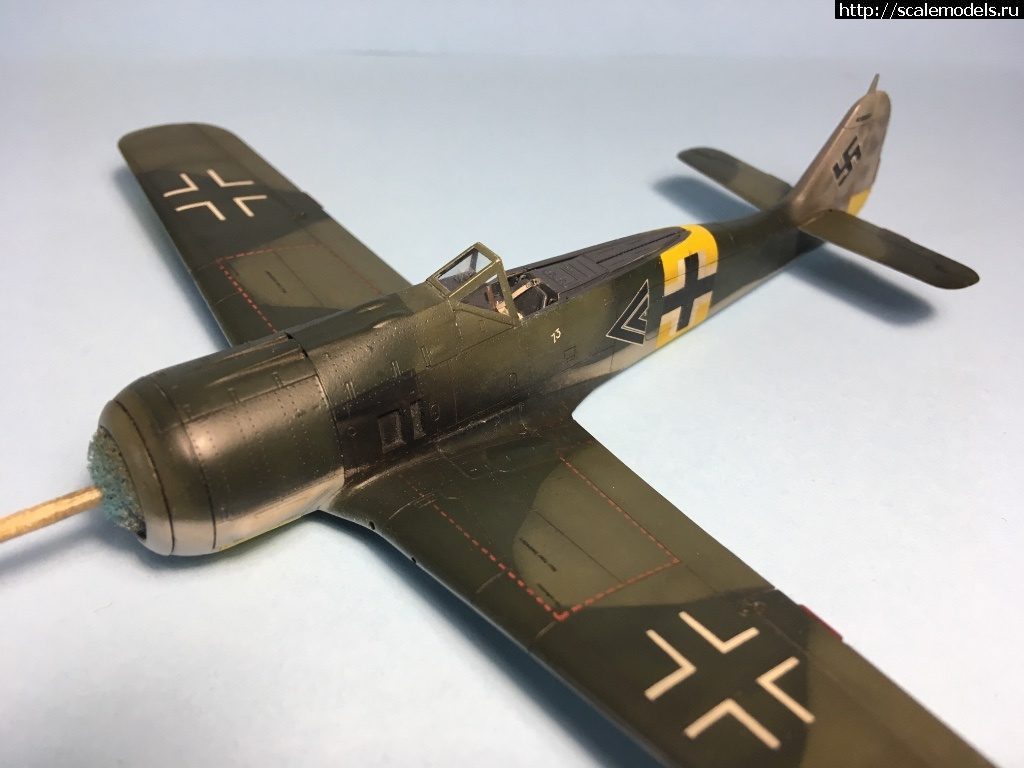 #1484386/ Fw 190A-5 1/72 Eduard Готово Закрыть окно