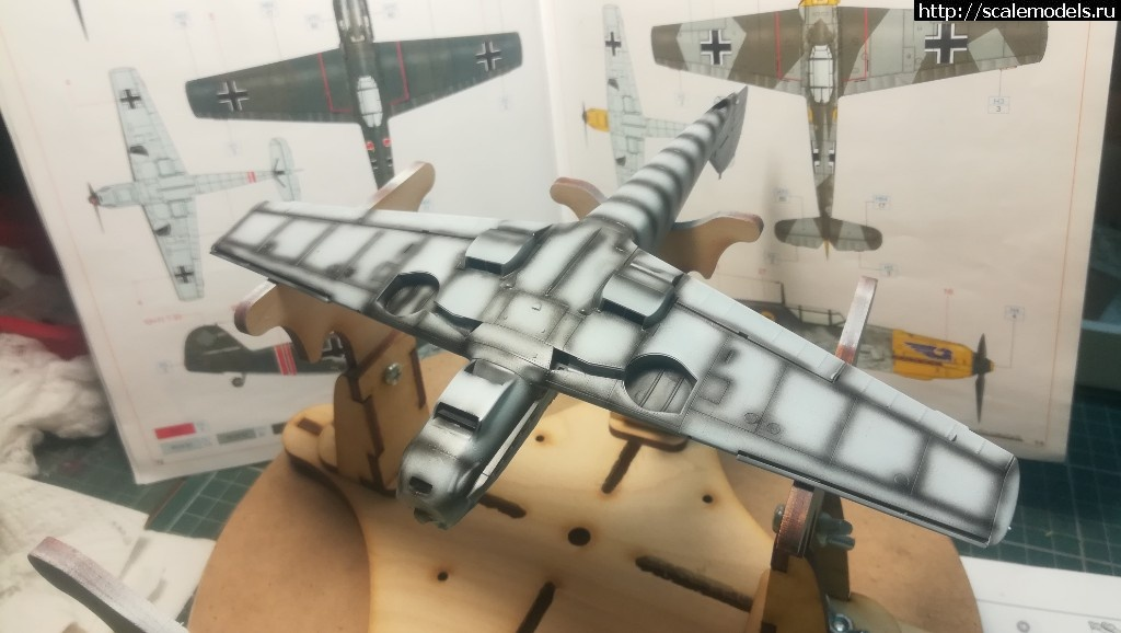 #1484928/ Bf 109E-1 Eduard 1/48 ГОТОВО! Закрыть окно